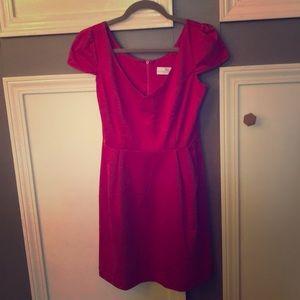 Amanda Uprichard Cap Sleeve Dress
